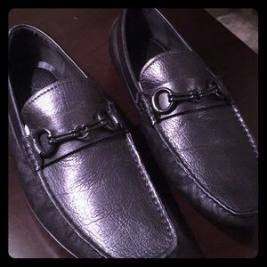 "Black Kenneth Cole loafer ""swing of things LE"""